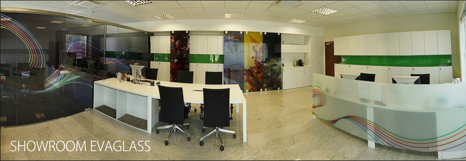 showroom firmy Evaglass